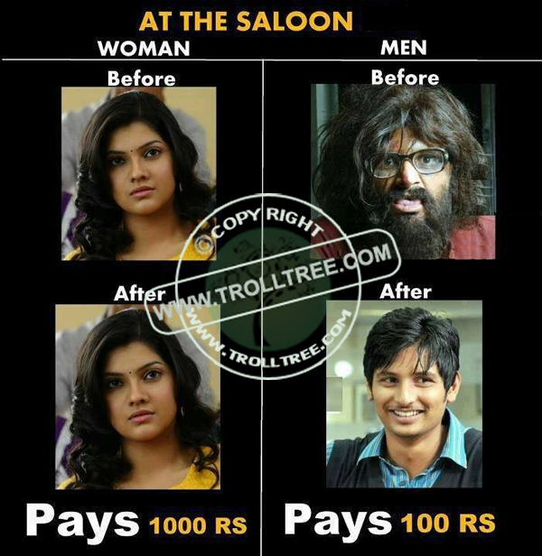 At the Saloon