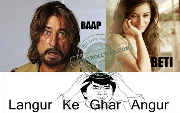 The Preety Daugter Of The Shakti Kapoor