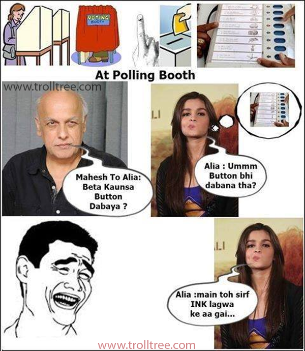 The Election joke with Pictures