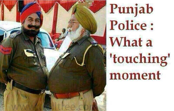 Punjab Police – What a Touching Moment