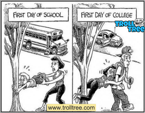 First Day of College