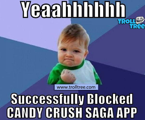 Game Lovers cannot play candy crush