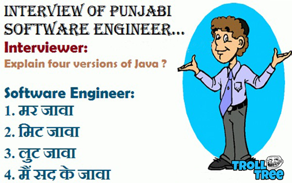 Interview of Punjabi Software Engineer