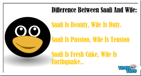 Difference Between Saali and Wife
