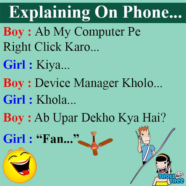 Explaining On Phone