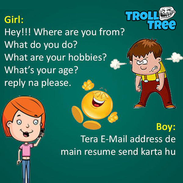 Girl and Boy Funny Jokes & Pictures