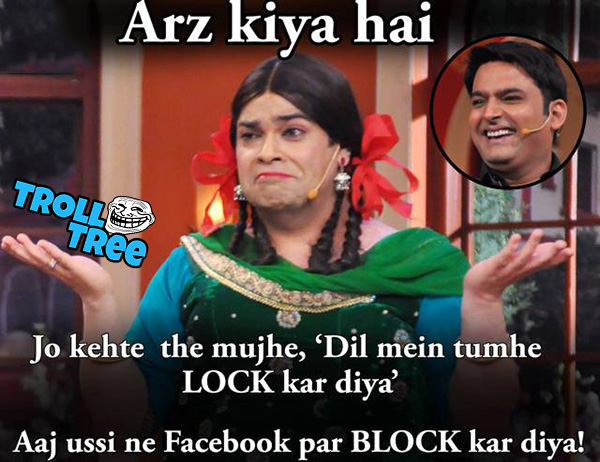 Most Funniest Troll In Comedy Nights