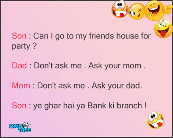Son Apne Mom Dad Se – Funny Joke