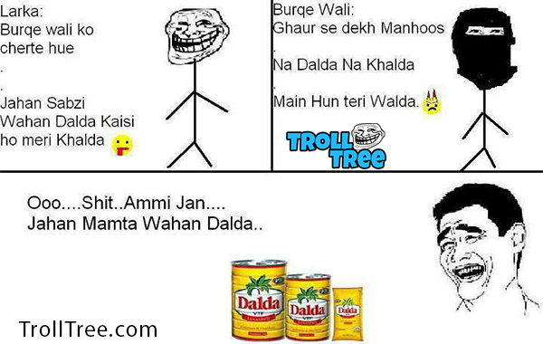 Mom & Son Funny Hindi Jokes at TrollTree.Com